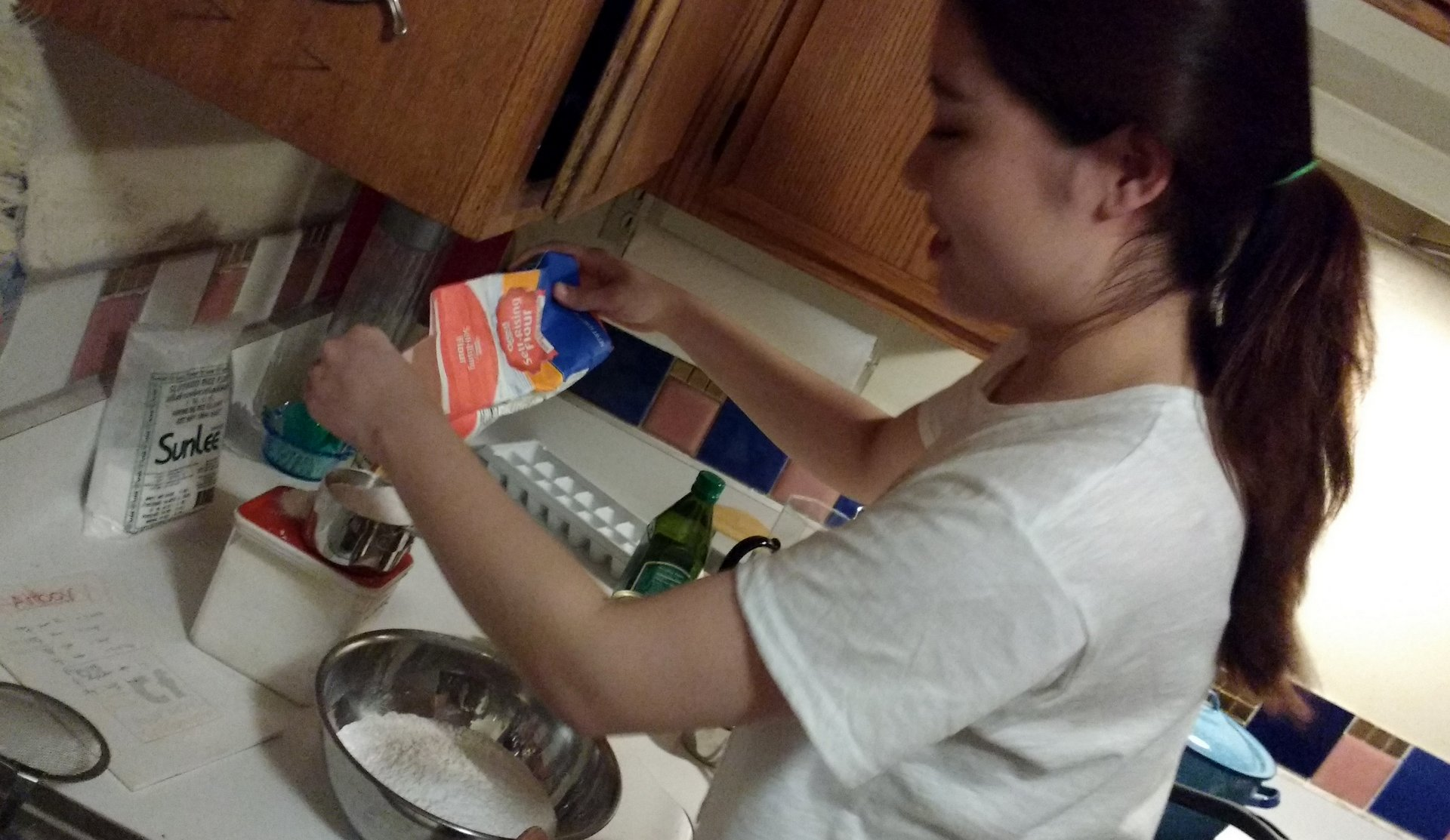 Soojeen mixing ingredients