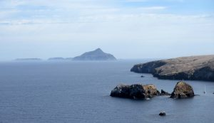 East, Middle, and West Anacapa Island, just 5 miles / 8 km, off the east end of Santa Cruz Island