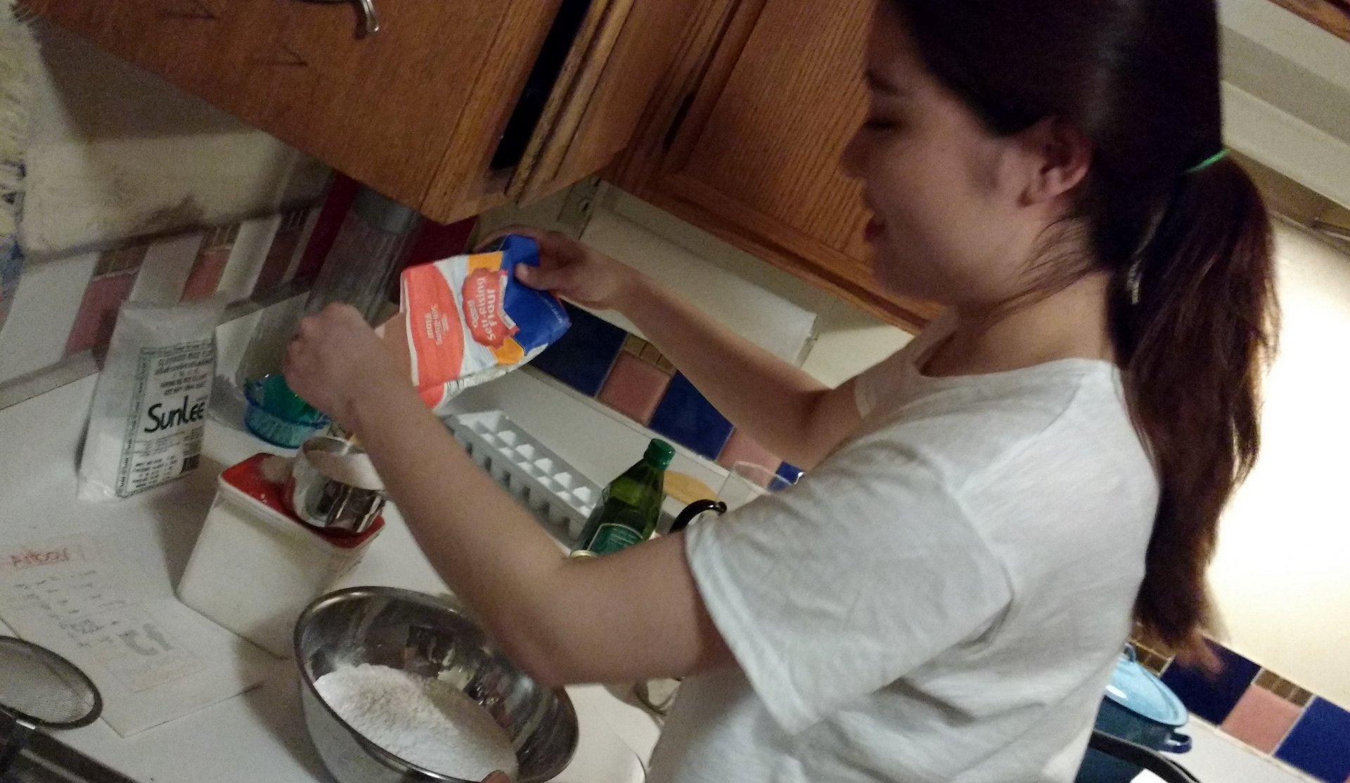 Soojeen mixing ingredients