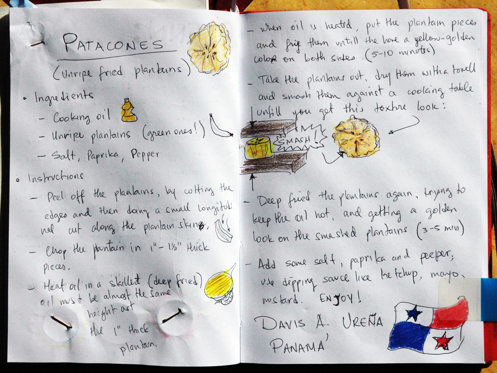 Patacones (Unripe Fried Plantains)